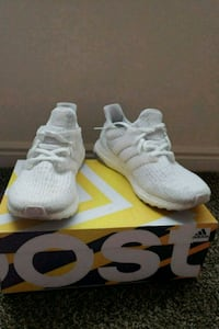 Ultra boost Adidas all white  Hill Air Force Base, 84056