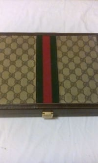 brown and black Gucci leather wallet Falls Church, 22044
