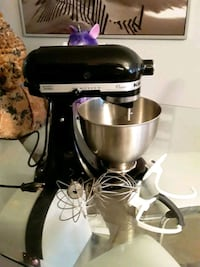 Like new kitchenaid stand mixer for sale with attachments