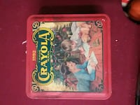 1992 Vintage Crayola Tin Canyon Lake, 78133