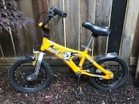Rage Bicycle for boys 3 - 7 years old