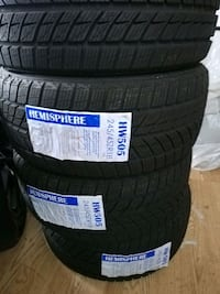 Winter tires never used 245/45/18 Mississauga