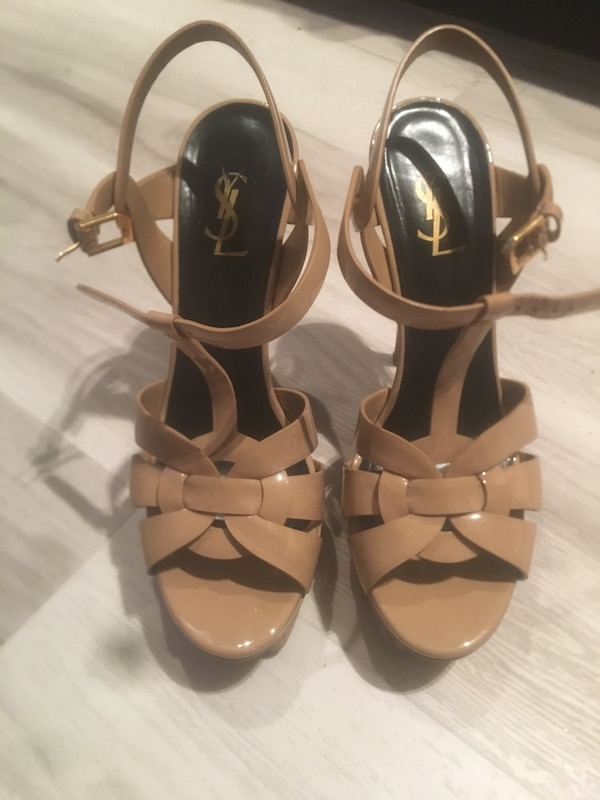 a4876fcb109a Used YSL TRIBUTE in Nude - size 39.5 for sale in Kelowna - letgo
