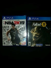 two PS4 game case and game case Fresno, 93726