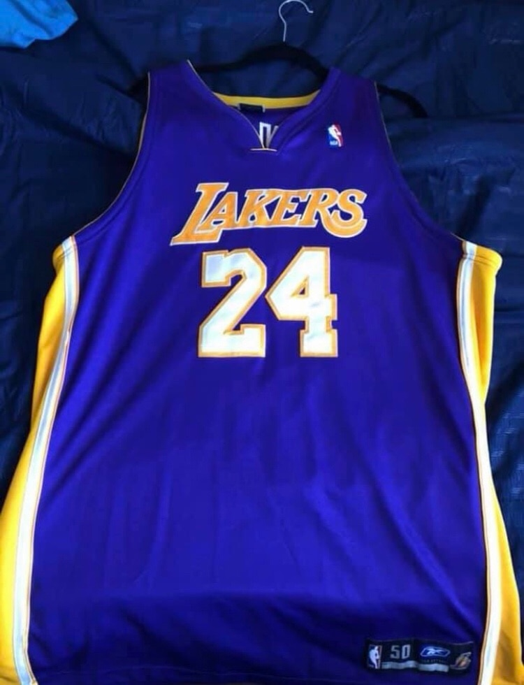 Sold Authentic #24 Kobe Bryant Jersey