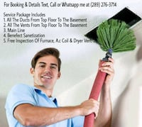 Air Ducts and Vents Cleaning Markham