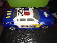 white and blue Police Mighty Fleet car toy North Bay, P1A 2Y6
