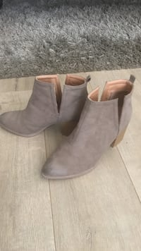 Women's taupe ankle booties San Diego, 92129