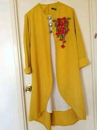 women's yellow and red long sleeve dress Vaughan, L4H 2L3