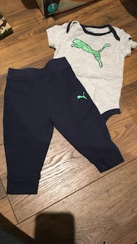 Puma outfit 6-9 months 551 km