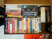 assorted vhs in box Ellsworth, 67439