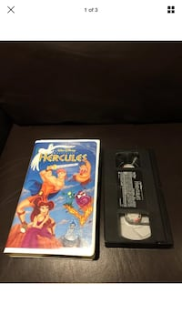 Hercules Clamshell VHS Tape London, N6G 2Y8