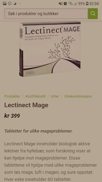 Lectinect mage tabletter  Bærum, 1358