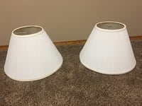 Two white table lamp shades Regina, S4V 2C5