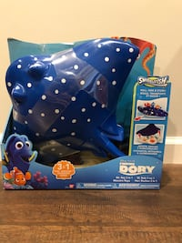 Disney Pixar Finding Dory Mr. Ray 3 in 1 Roll, Ride & Store