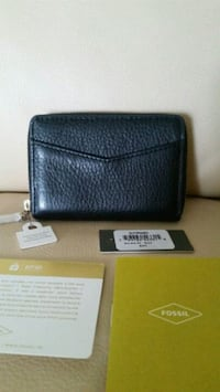 BNWT Fossil mini ziparound coin card wallet 552 km
