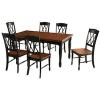 Dining room table and six chairs SPRINGFIELD