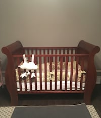 Wooden Baby Crib Vaughan, L4H 3P6