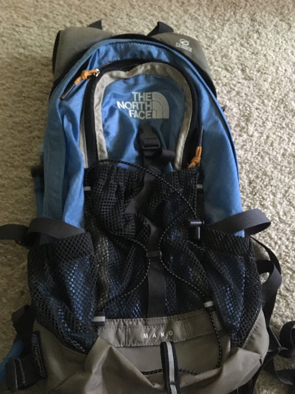 North Face hydration backpack 72cc42a5-9d57-4431-aa9f-27183060d9ec