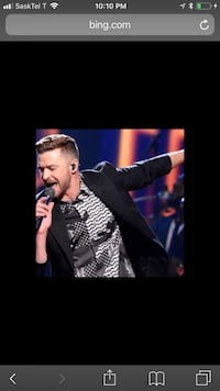 Justin Timberlake tickets Vancouver, V5S
