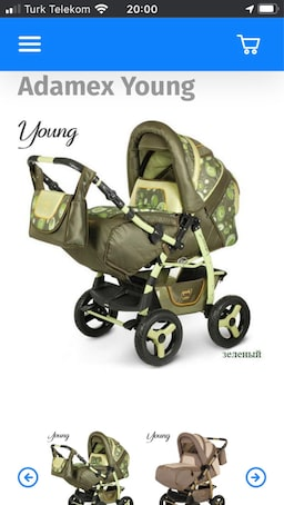 Adamex young jeep stroller 3 in one 0 to 6 years old cot and stroller f80bf972-eef0-49bf-ace3-68c5bec803af