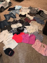 Teen Clothing Haul (Brandy, AE, Pacsun, Abercrombie, Garage, Etc.)