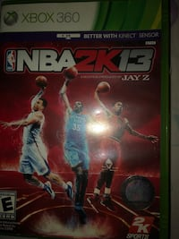 Xbox 360 nba 2k15 game case New York, 10463