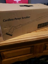 Brand New cordless power scrubber
