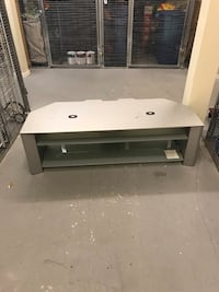 TV Stand with Glass Shelves Langley, V3A