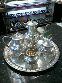 Silver tea set Woodbridge, 22192