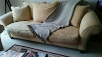 gray fabric 2-seat sofa Arlington, 22202