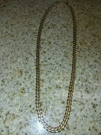 gold-colored Cuban chain necklace Silver Spring, 20910
