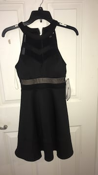 black and gray sleeveless dress Imperial, 92251