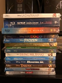 Disney and Marvel Blu-ray's  New York, 11221