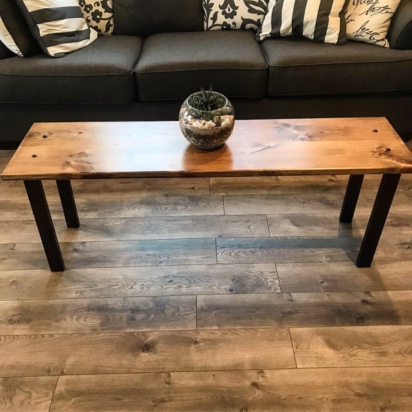 Wondrous Reclaimed Barn Wood Entryway Bench Or Coffee Table Machost Co Dining Chair Design Ideas Machostcouk