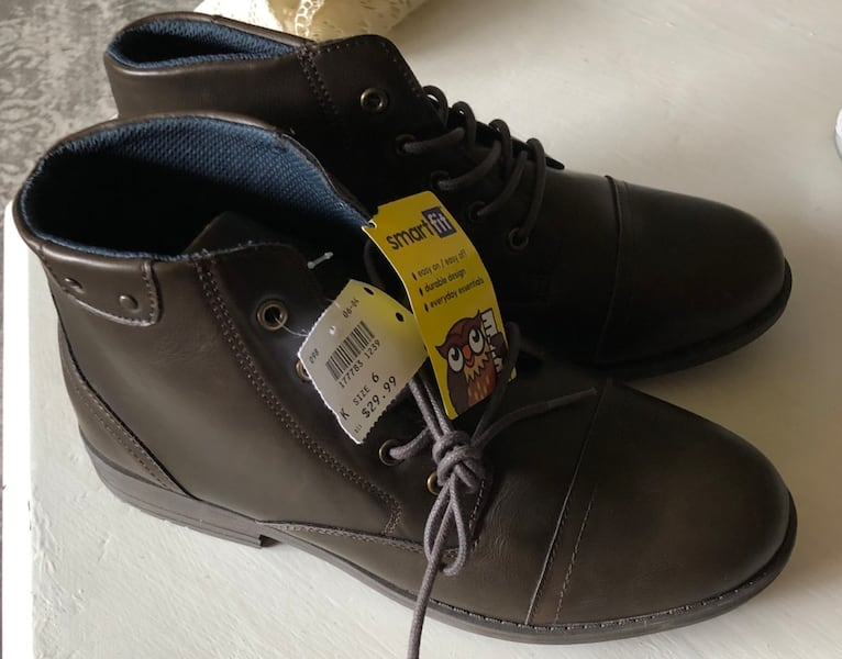 New, Smart Fit short boots, Size 6 c181509b-826f-4321-a2ae-aa98fbb8fe69