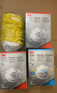 3M N95 mask 1 box 20-pack Germantown, 20874