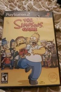 The SImpson's Game PS2 Play Station 2 complete *RARE