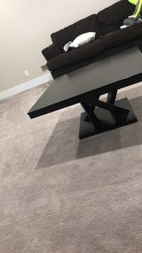 rectangular black wooden coffee table Sturgeon County, T8T
