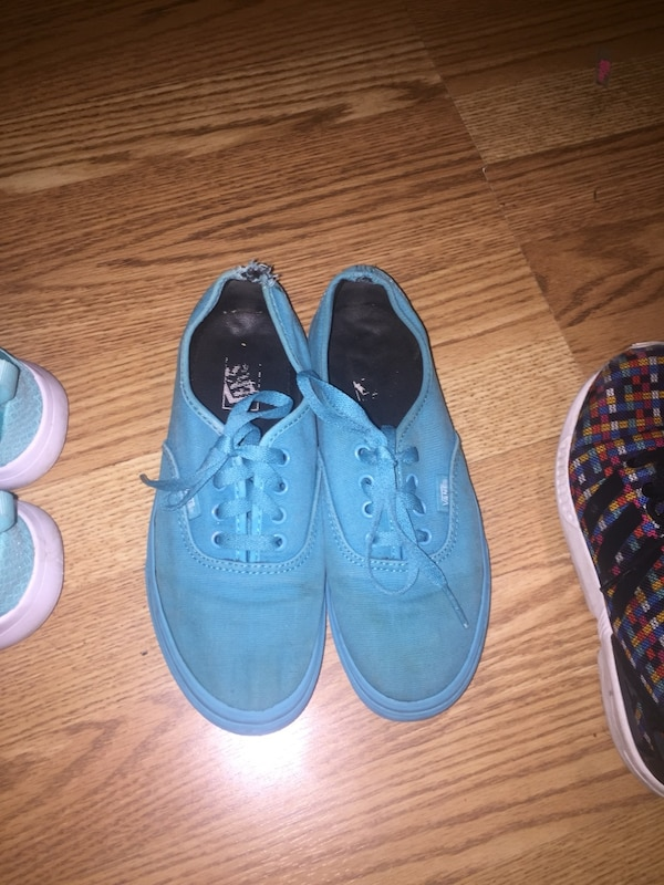 bcc5969191 Used blue Vans low-top sneakers for sale in McKinney - letgo
