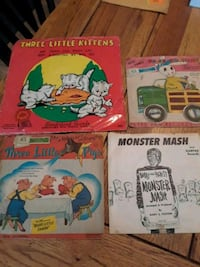 Antique children's records Bridgeport, 06604