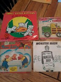 Antique children's records