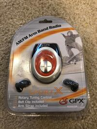 New GPX AM/FM Arm Band Radio South Bend, 46637