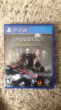 ps4 injustice gods among us Lowell, 72745