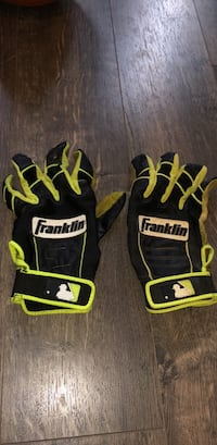 Adult Large, Blacm and Green Rarely Used  Baseball Gloves  Montvale, 07645