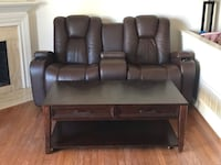 Power Recliners with side tables and coffee table Woodbridge, 22191