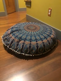 Mandala Yoga Pillow