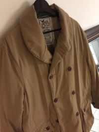 brown trench coat Boston, 02136