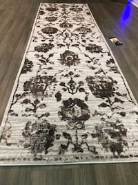 white and black area rug Mississauga, L5J 4E6