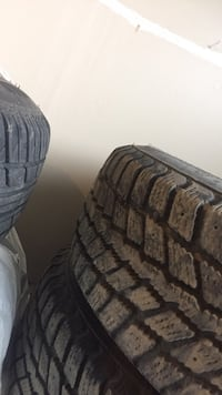 """14"""" Tons of tread only used 2 months then my car broke down but bought them for 450$ WINTERS-190/70r14 Kamloops, V2B 4X4"""